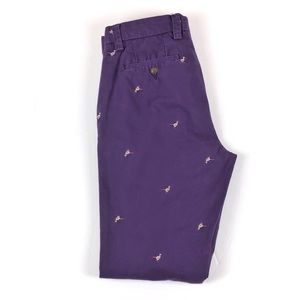 Tommy Hilfiger Slim Fit Embroidered Chino Pants